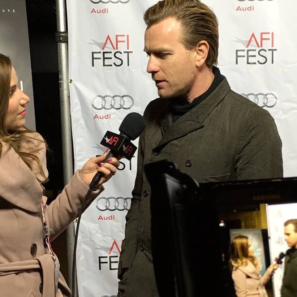 Ewan McGregor at AFI Fest 2015