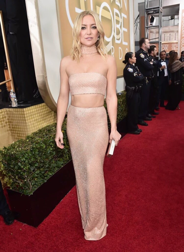 Kate Hudson in Michael Kors at the 2016 Golden Globes