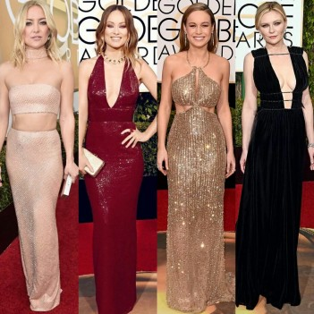 The Hottest Women on the 2016 Golden Globes Red Carpet