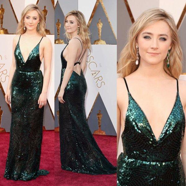 Saoirse Ronan 2016 Oscars