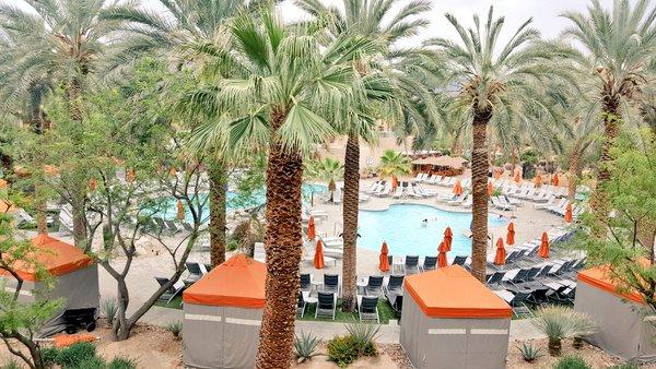 Hyatt Regency Indian Wells Deluxe Suite Pool View