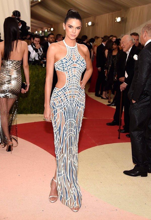 Kendall Jenner 2016 Met Gala