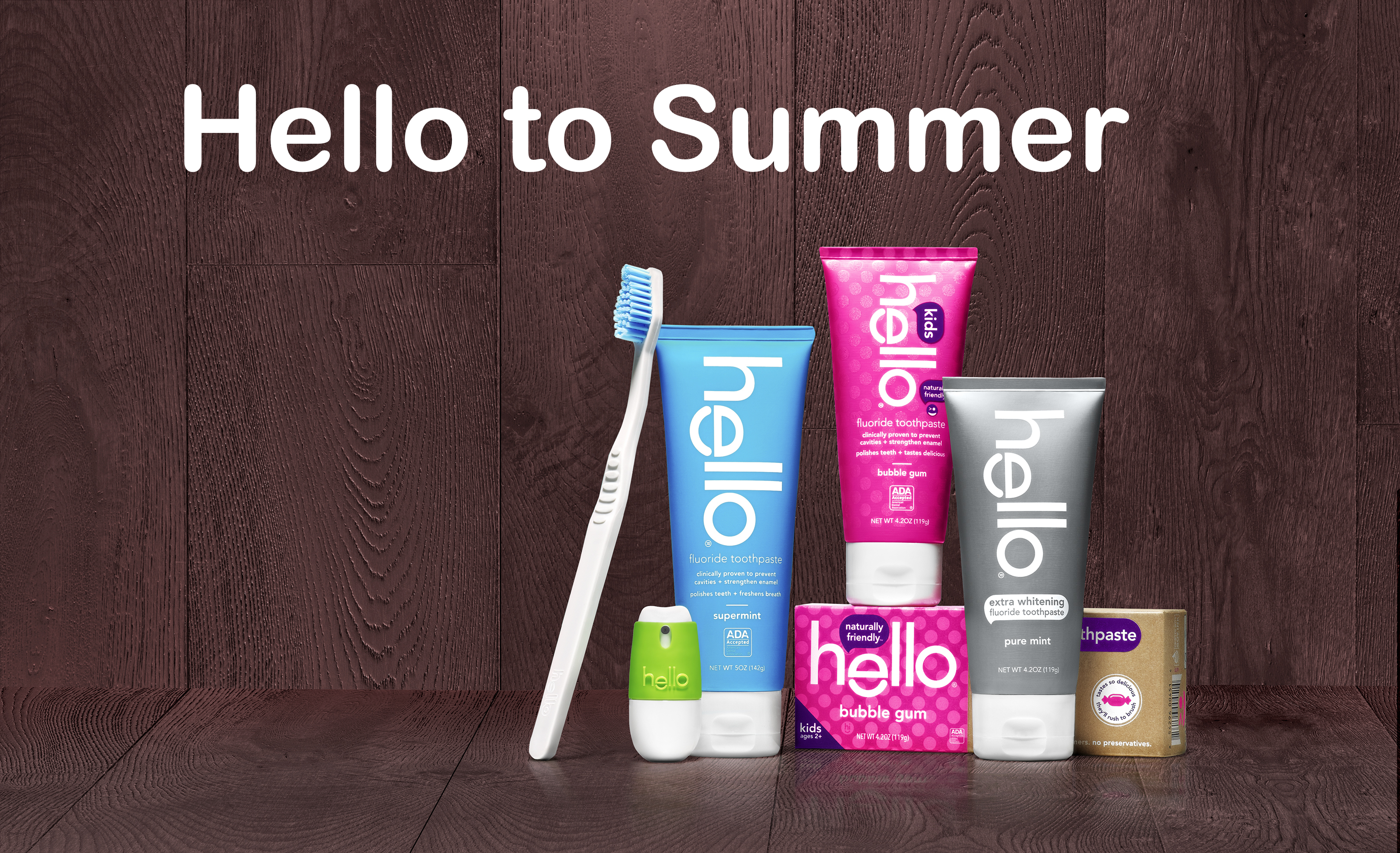 Hello to Summer Giveaway: Naturally Friendly ™ Oral Care
