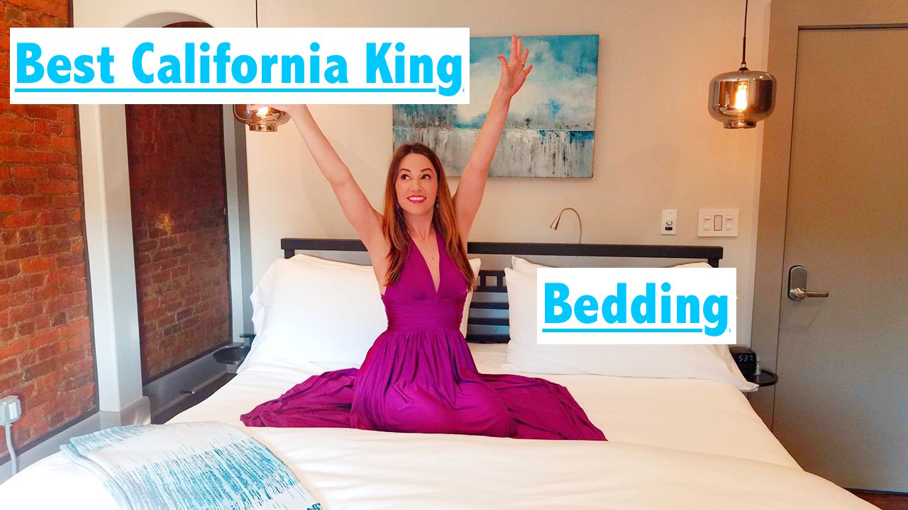 Best California King Bedding and Sheets on Sale on Amazon