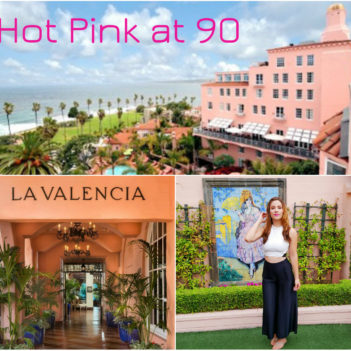 La Valencia Hotel: Hot Pink at 90