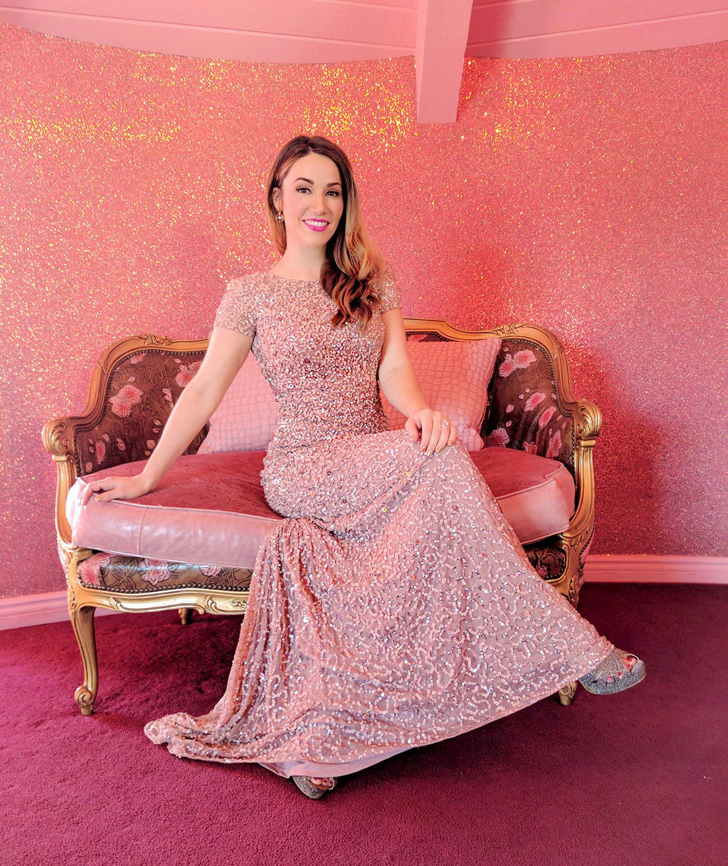 Adrianna Papell Red Carpet Worthy Gowns at Madonna Inn Lookbook