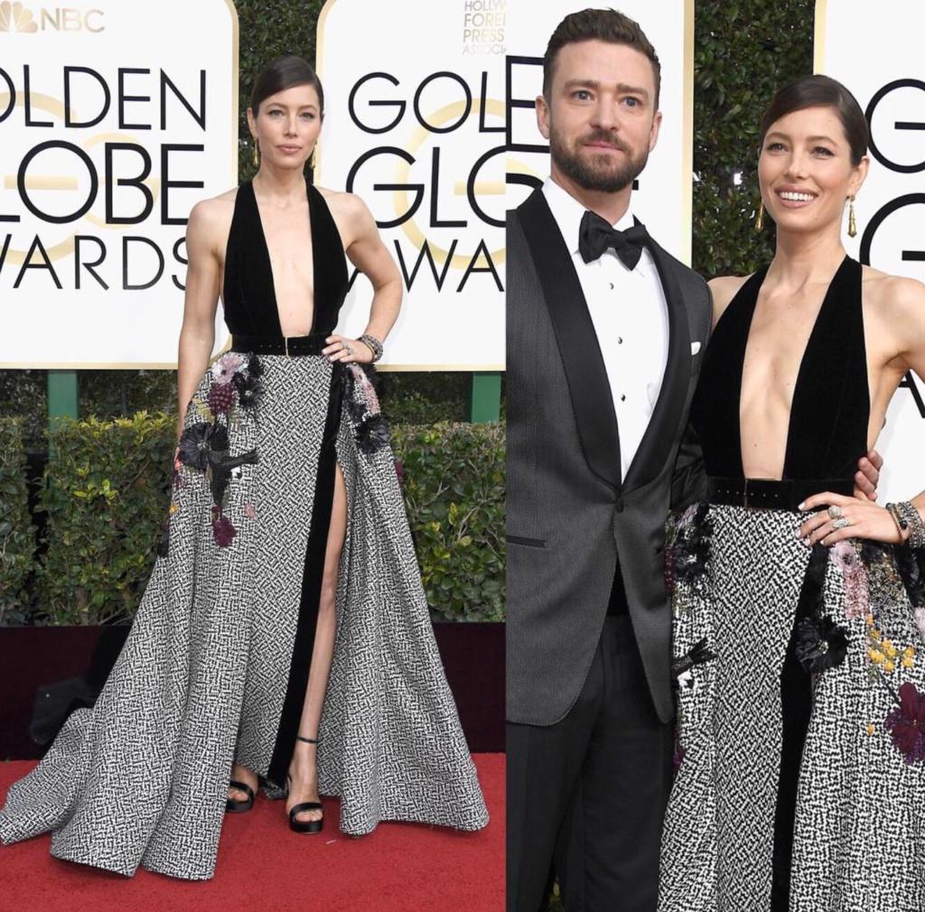 Jessica Biel Justin Timberlake Golden Globes