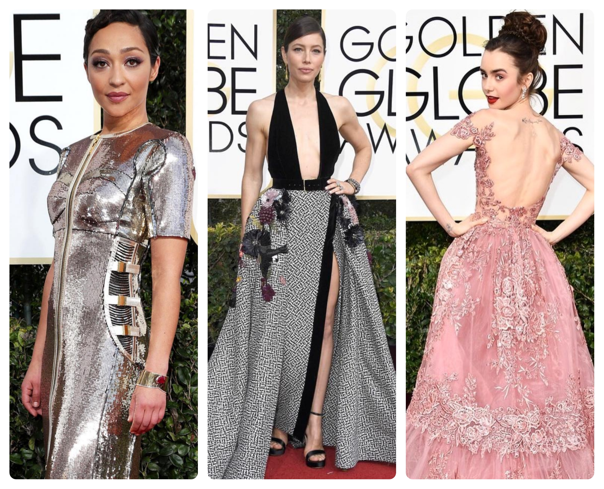 10 Best Dressed Women at the 2017 Golden Globes