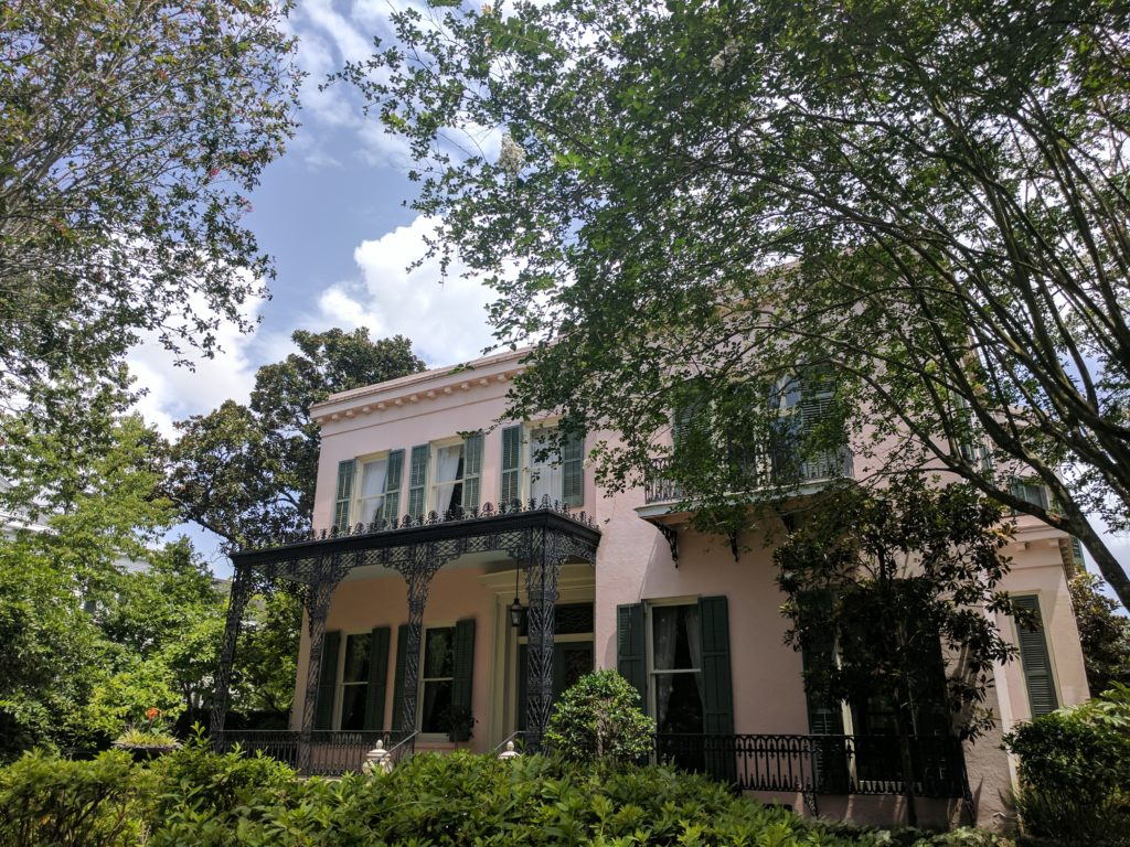 garden district free walking tour