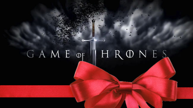 game of thrones holiday gift guide