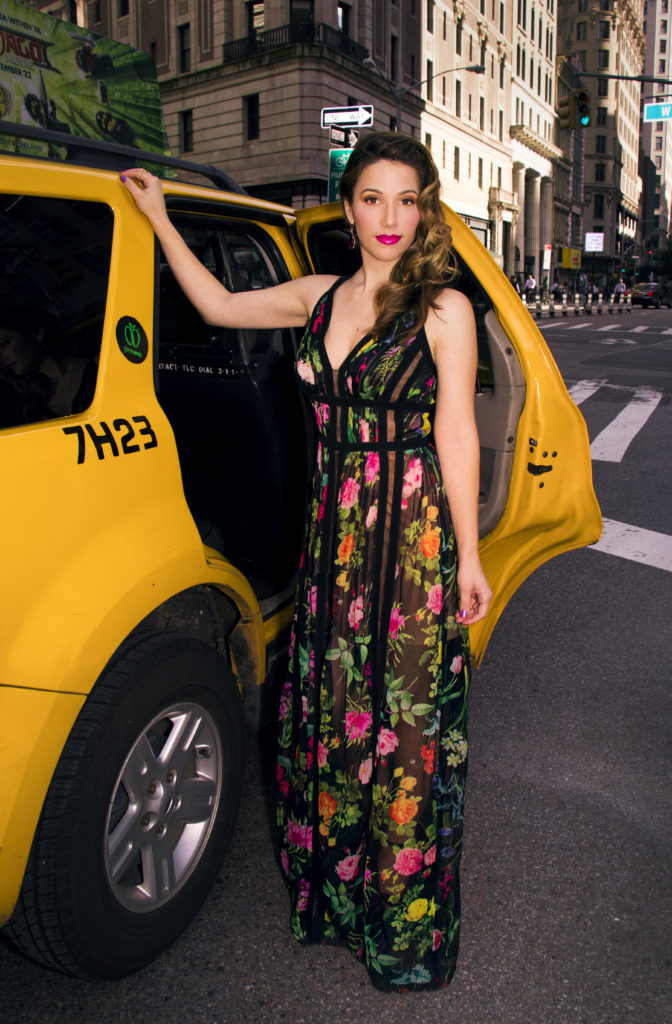elegant-woman-new-york-city-cab