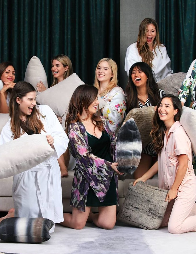 I've put together this guide on how to throw the ultimate girls' night in, which is the perfect way to spend Galentine's Day!