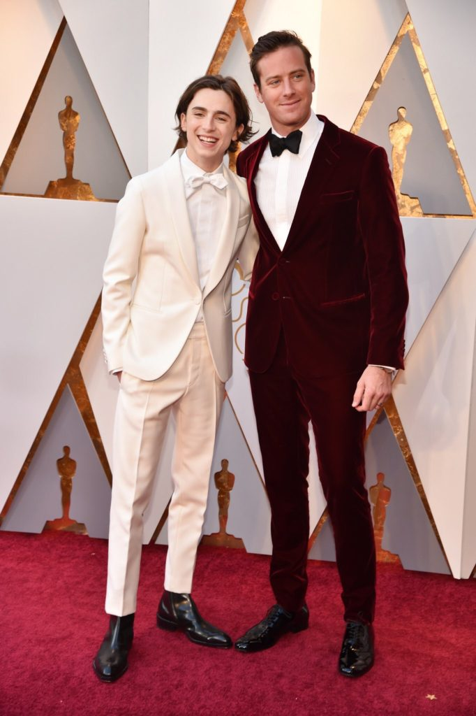 Timothée Chalamet and Armie Hammer