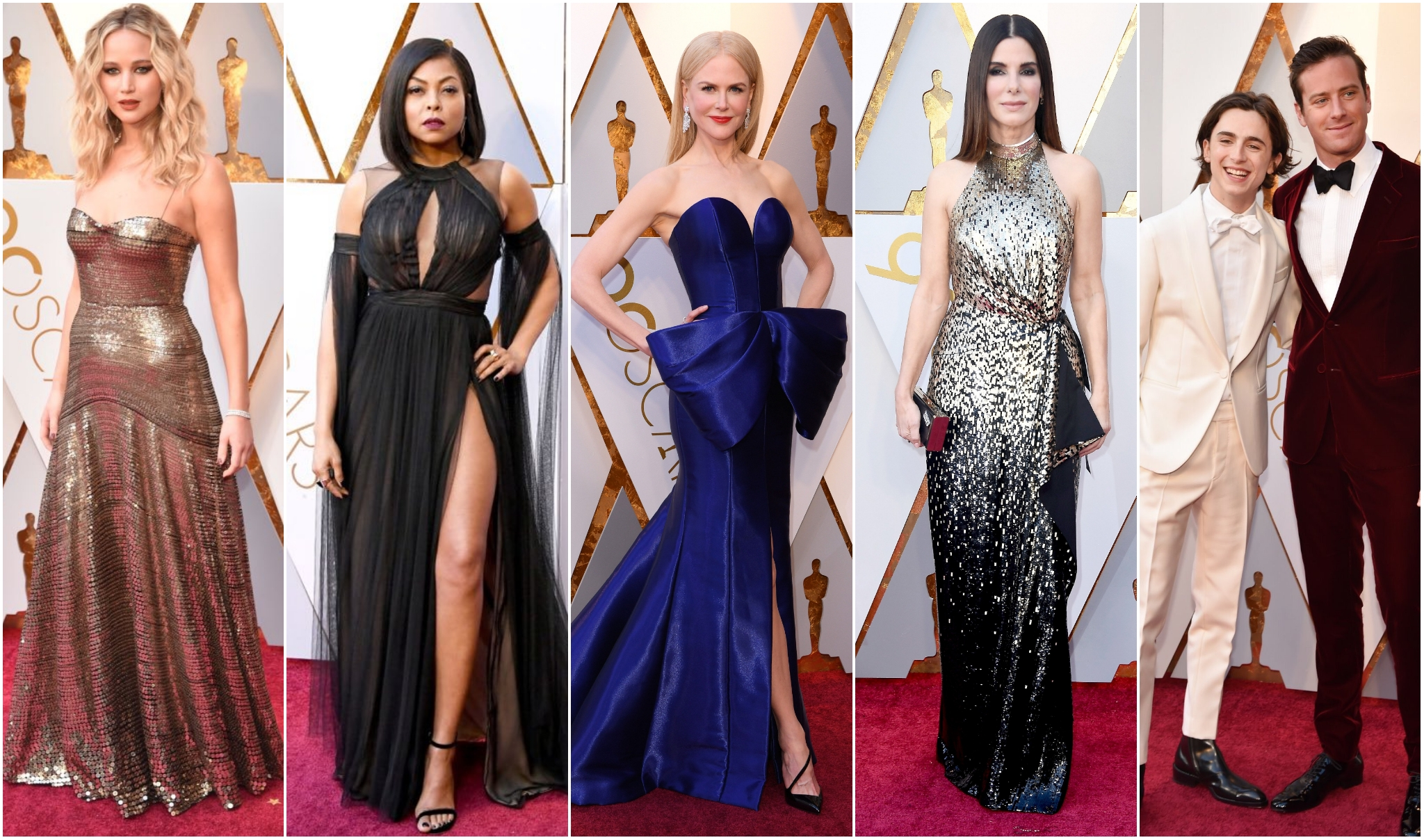 10 Favorite 2018 Oscars Fashion Moments