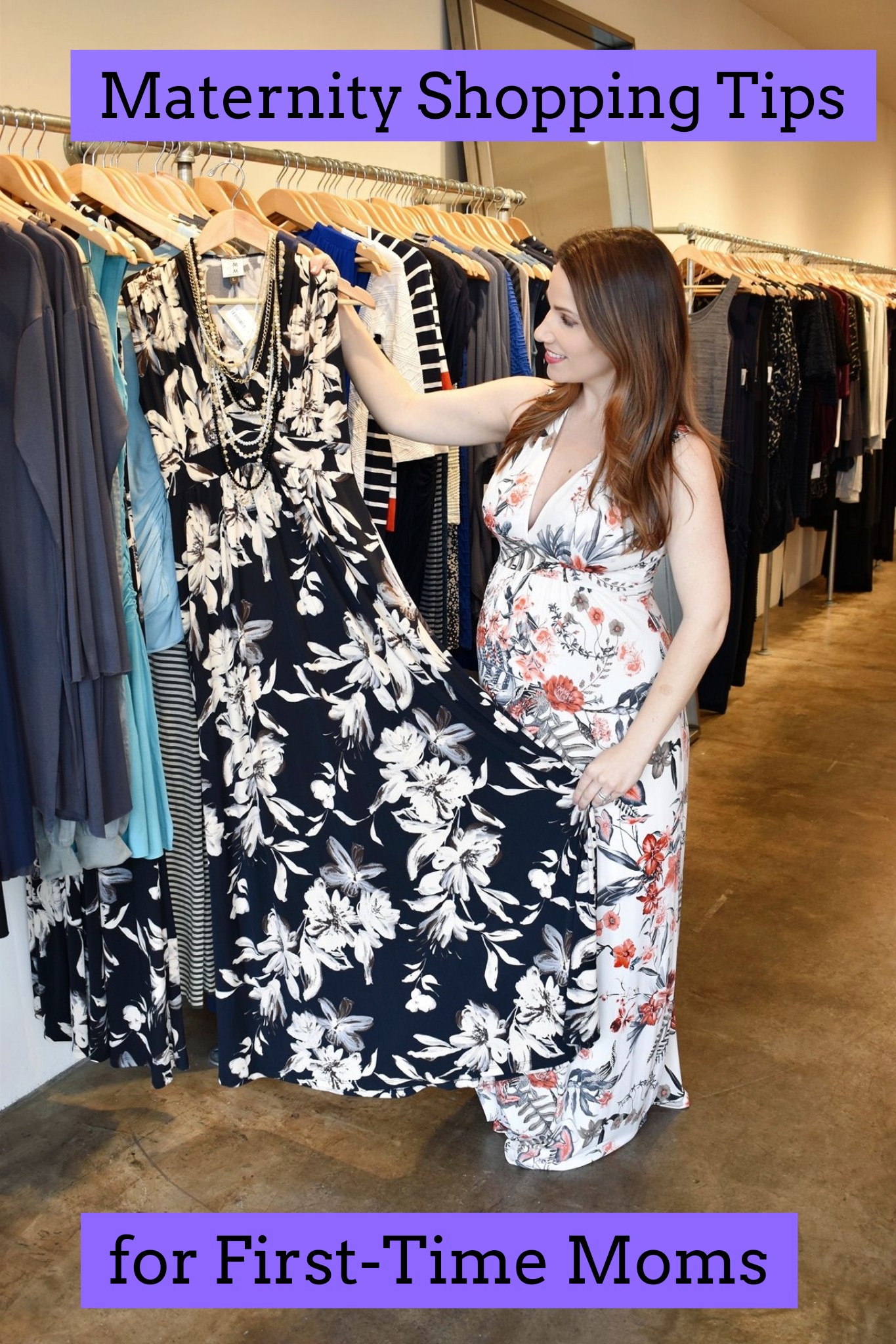 Maternity Shopping Tips for First-Time Moms