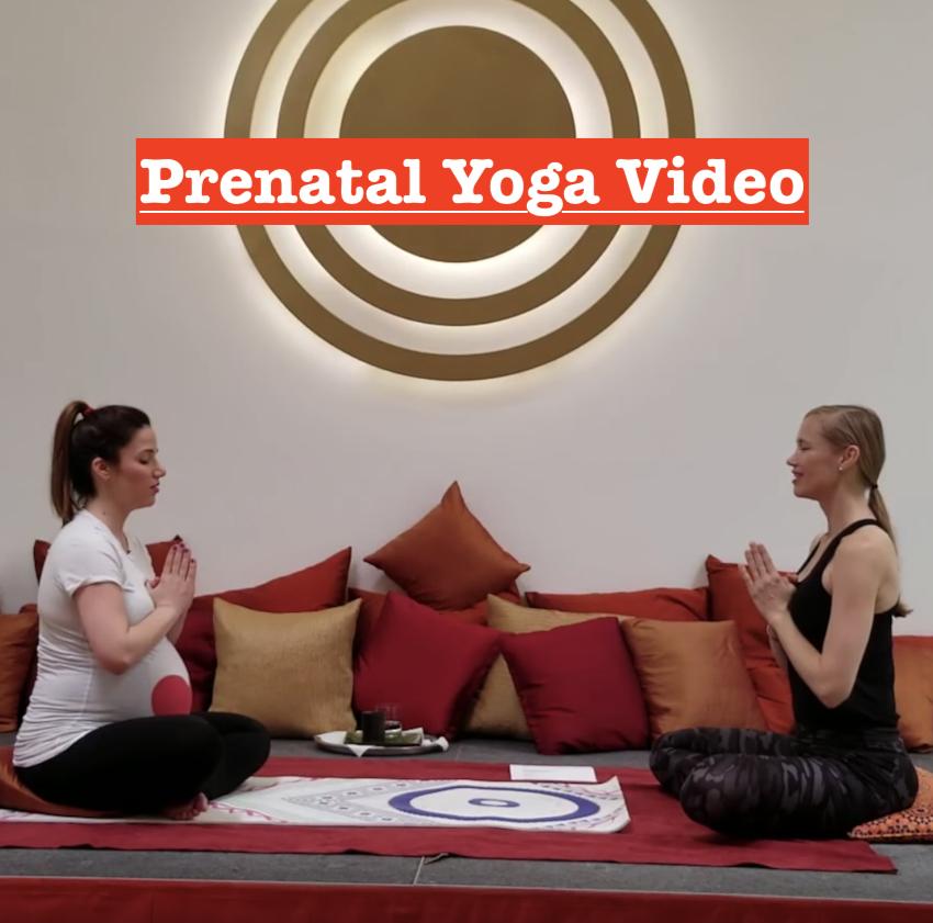 Prenatal Yoga Therapy Video with Naam Yoga