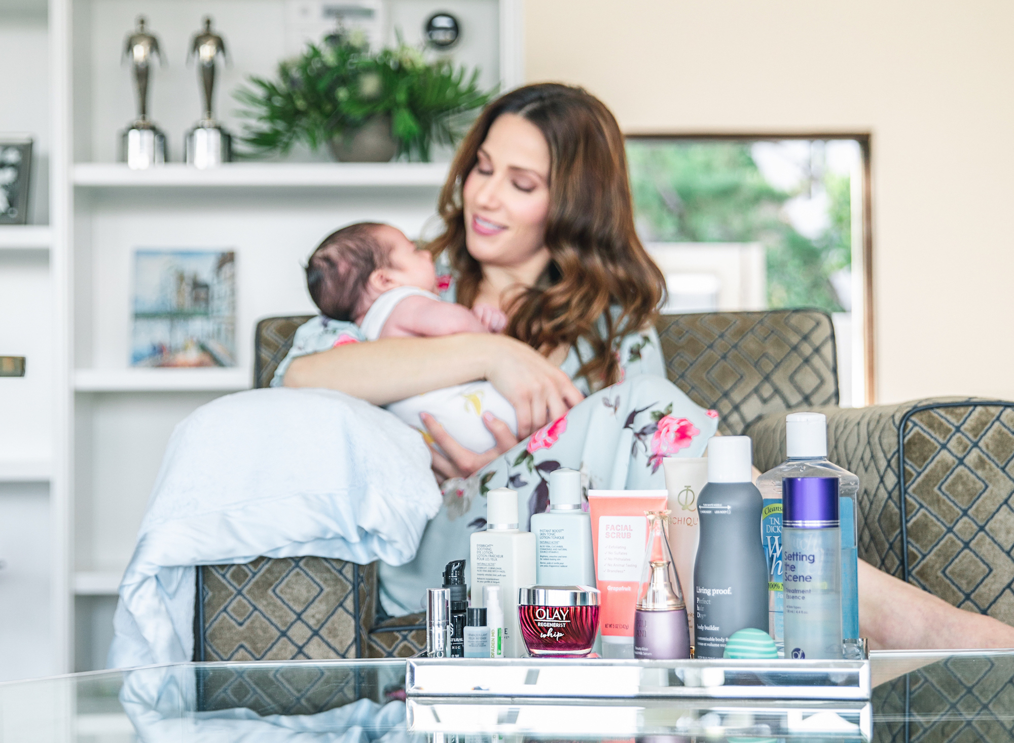 My Quick Skincare Routine for Busy Moms with Olay Whips