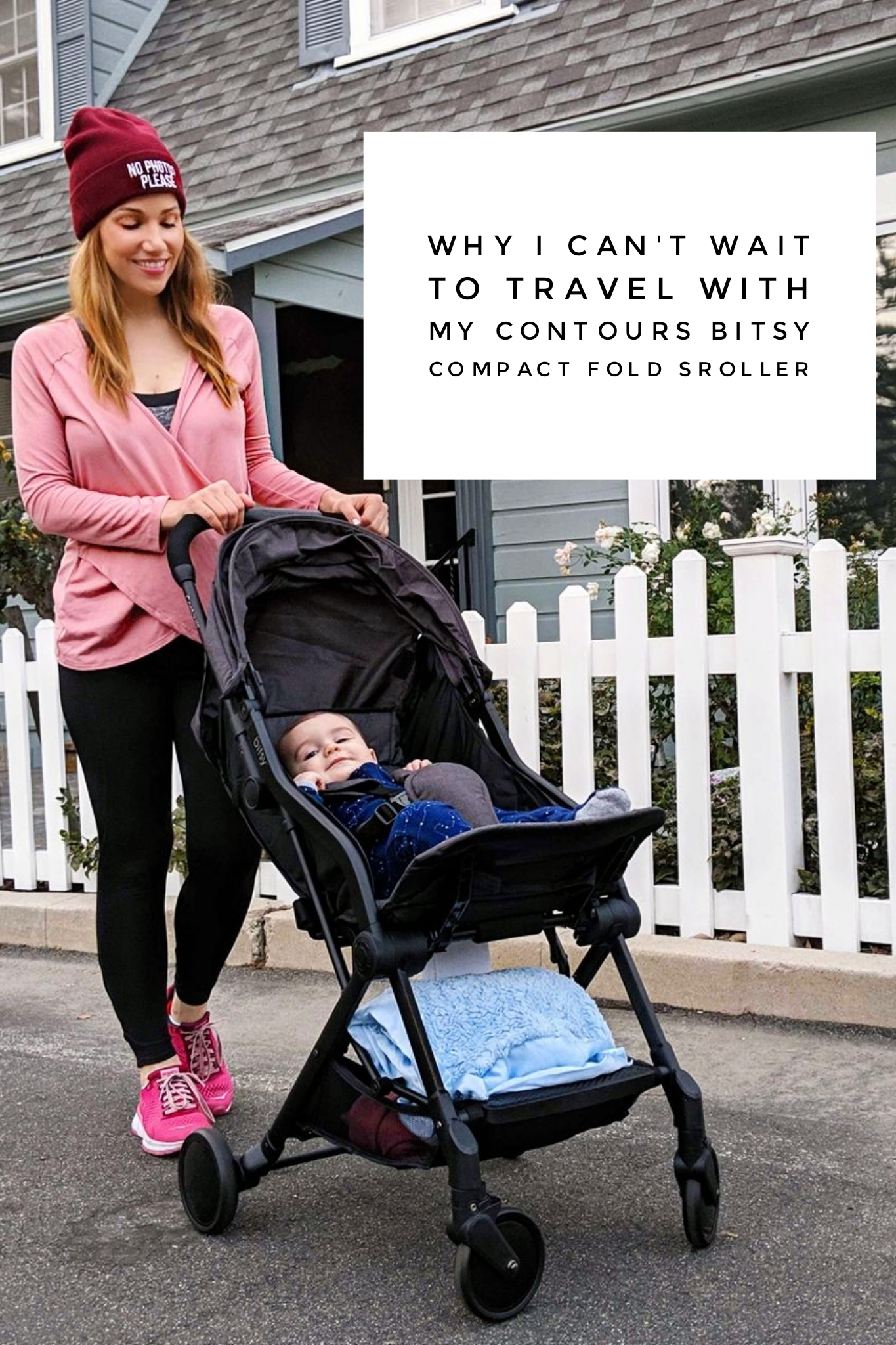 Why I Can't Wait to Travel With My Contours Bitsy Compact Fold Stroller