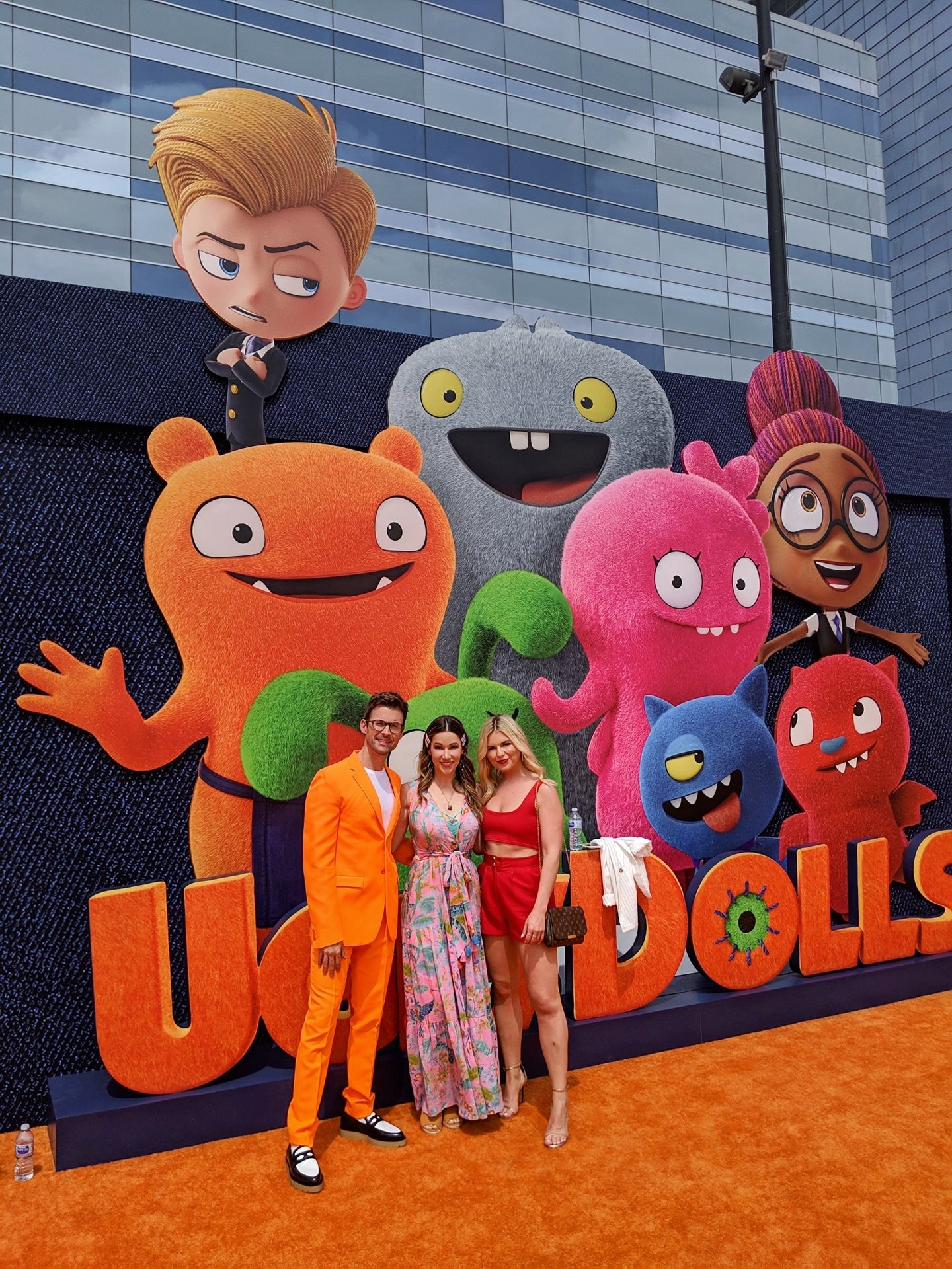 Stuart Brazell Live on the Red Carpet at the Ugly Dolls Premiere in Los Angeles