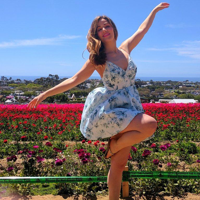 The Flower Fields in Carlsbad, California