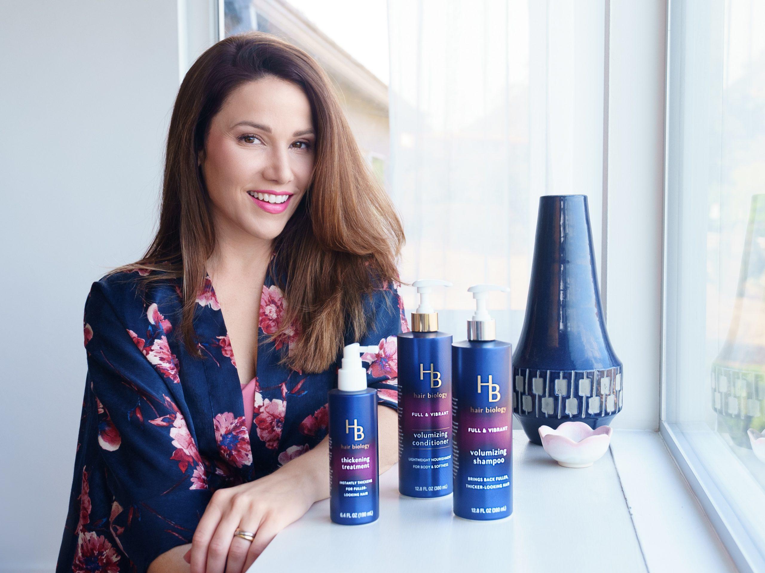 Why I LOVE Hair Biology's Hair Thickening Treatment
